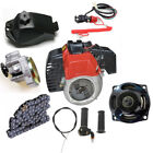 2 Stroke 50cc 47 49cc Engine Motor Transmission Kit Fr Goped Scooter Bicycle ATV