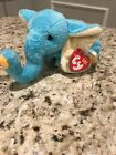 2003 Ty Original Beanie Babies JIMBO The Blue Circus Elephant w/Tags