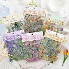 40pcs Colorful Flowers Stickers Kawaii DIY Scrapbooking Decor Phone Cup Sticker