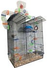 Large 5 Floors Top Watcher Hamsters Habitat Rodent Gerbil Rats Mice Clear Cage