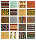 Ambesonne African Fabric by the Yard Decorative Upholstery Home Accents