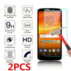2 Pack For Motorola Moto E6 G6 G7 Play Force X4 Tempered Glass Screen Protector