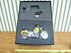 Harley-Davidson Chrome Yellow  2011 FLSTF Fat Boy By DCP 1/12th Scale