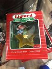 Hallmark Keepsake 1988 Chris Mouse Star Lighted Ornament 4th In Series Brand New