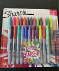 Sharpie 24 Count Colors Ultra Fine Point Burst Permanent Markers Assorted Colors