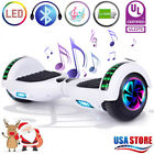 65 Hoverboard Bluetooth LED Electric Self Balancing Scooter no Bag Best Gift N