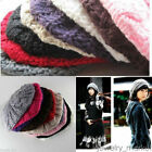 Winter Autumm Women's Fashion Soft Wool Berets French Knit Beanies Hat Cap BL