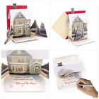 Merry Christmas Greeting Cards Light Song Holiday Seasonal Winter Decoration New