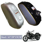 1PC Motorcycle Steel Fuel Gas Tank & Cap Switch Universal Fit For Honda BENLY50S