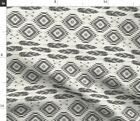 Navajo Feathers And Arrows Boho Tribal Native Fabric Printed by Spoonflower BTY