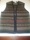 LL Bean Sweater Vest Large Tall Ireland Wool Free Shipping
