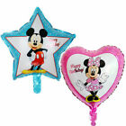 Mickey Minnie Mouse Heart Star Birthday Kids Party Decoration Balloons 18 45cm