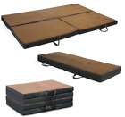 Folding Portable Full Foam Mat Cot Bed Mattress Pad Sleep Camping Outdoor Guests
