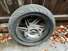 2007 Hyosung Gt650 Rear Wheel Rim Complete
