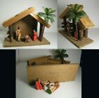 Vintage Unique Nativity Scene made in Germany Creche