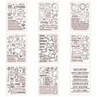 Animals Life Clear stamp Decoration Crarfts Paper Cards Diy Scrapbooking