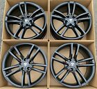 19 Tesla Model S Satin Black Factory Rims Wheels OEM Split 2016 2017 98910