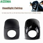 35-49MM Headlight Fairing Front Windshied Fit Harley Sportster XL 1200 Motocross