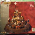 Lemax Signature collection nativity 2007 musicalcomplete set item 74713 Working