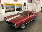 1968 AMC AMX 343 V8 4 SPEED SUPER CLEAN SEE VIDEO AMC AMX Burgundy/Maroon with 74,703 Miles, for sale!