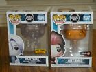 Lot 2 FUNKO POP! Ready Player One: PARZIVAL #496 & ART3MIS #497, Exclusives!