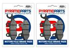 Kymco Grand Dink/Miler 125/150 01-07 Full Set Front & Rear Brake Pads (2 Pairs)