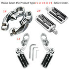 1 1 4 Highway Foot Pegs Footrests Mount For Indian Scout Chieftain Harley Honda