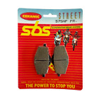 Pair Brake Pads Rear SBS - Sachs Bee 125 2008/2009