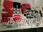 Vintage Revell 1/8 Scale Red Jaguar E-Type (XK-E) #07390 - Unbuilt