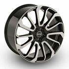 22 Range Rover Wheels Rims Autobiography Machined Black Land Rover Sport 2020
