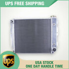 LUXERAD Full Alumimum Radiator 3 Row Fit Jeep Wrangler TJ YJ V8 Conversion