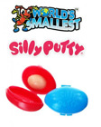 World's Smallest Smallest Silly Putty NIP Super Impulse One Red & One Blue