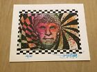 Joey Feldman Timothy Leary Blotter Art Signed and Numbered