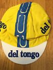 NOS 80s Team Del Tongo Colnago Cycling Cap Hat by Santini of Italy