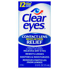 Clear Eyes Contact Lens Relief Soothing Eye Drops 0.50 oz, Exp. 04/2020