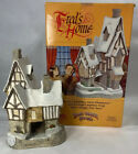 David Winter Cottages Christmas Special Fred's Home (1991) with COA and Box
