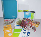 Weight Watchers 2012 Points Plus Zip Binder w Booklets Recipe Book
