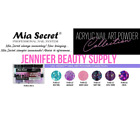 LAS VEGAS MIA SECRET NAIL ART ACRYLIC POWDER COLLECTION 6 COLORS SET | US SELLER