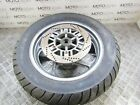 Kawasaki 1000 GTR 95 rear wheel rim with tyre & brake rotor disc