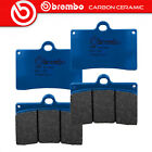 2 Pairs Brake Pads Brembo Carbon Ceramic Front Laverda Lynx 650 2000