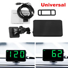 Universal Car Truck Head up Display GPS Speedometer HUD MPH and KM h Plug