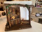 Department 56 Folk Art Nativity STABLE ONLY