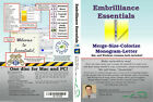 Embrilliance Essentials Embroidery Software BX Fonts Sizing Monogramming