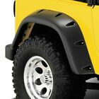 Bushwacker 97 06 Jeep TJ Fender Flares Large Pocket Style Euro Ribicon Conversi