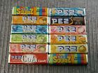 12 PACKS PEZ CANDY REFILLS HARD TO FIND FLAVORS