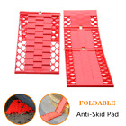 2Car Folding Skid Plate Tire Traction Wheel Anti Skid Pad For Rainy Day Driving
