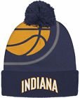 Adidas Indiana Pacers Knit Team Player Cuff Winter Beanie hat NBA basketball men