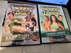 Lot 2 Biggest Loser DVD Boot Camp Power Sculpt