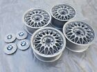 14 BMW wheels basket mesh bbs e30 325is 4X100 2002 325I 325ES LEMMERS