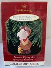 Hallmark Ornament Spotlight on Snoopy Series #2 Famous Flying Ace Woodstock 1999